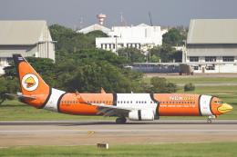 安芸あすかさんが、ドンムアン空港で撮影したノックエア 737-83Nの航空フォト(飛行機 写真・画像)