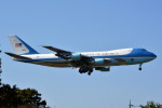 サンドバンクさんが、横田基地で撮影したアメリカ空軍 VC-25A (747-2G4B)の航空フォト(飛行機 写真・画像)