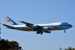 トロピカルさんが、横田基地で撮影したアメリカ空軍 VC-25A (747-2G4B)の航空フォト(写真)