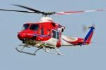 Dojalanaさんが、函館空港で撮影した札幌市消防局消防航空隊 412EPの航空フォト(飛行機 写真・画像)