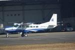 だっちんさんが、八尾空港で撮影したアジア航測 208A Caravan 675の航空フォト(写真)