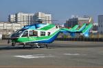 md11jbirdさんが、神戸ヘリポートで撮影した兵庫県消防防災航空隊 BK117C-2の航空フォト(写真)