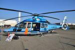 md11jbirdさんが、神戸ヘリポートで撮影した兵庫県警察 EC155B1の航空フォト(写真)