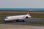 遠森一郎さんが、山口宇部空港で撮影した遠東航空 MD-83 (DC-9-83)の航空フォト(写真)
