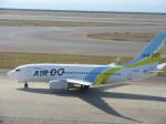 そのまんま南さんが、中部国際空港で撮影したAIR DO 737-781の航空フォト(写真)