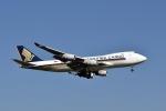 sonnyさんが、成田国際空港で撮影したシンガポール航空カーゴ 747-412F/SCDの航空フォト(写真)