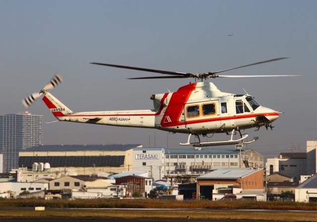 航空フォト:JA9584 朝日航洋