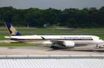 reonさんが、シンガポール・チャンギ国際空港で撮影したシンガポール航空 A350-941XWBの航空フォト(写真)