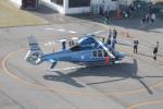 go44さんが、神戸ヘリポートで撮影した兵庫県警察 EC155B1の航空フォト(写真)