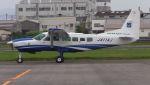 C.Hiranoさんが、八尾空港で撮影したアジア航測 208A Caravan 675の航空フォト(写真)