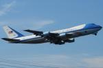 (`・ω・´)さんが、横田基地で撮影したアメリカ空軍 VC-25A (747-2G4B)の航空フォト(写真)