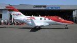 C.Hiranoさんが、岡南飛行場で撮影したホンダ・エアクラフト・カンパニー HA-420の航空フォト(写真)