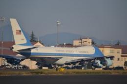 hirokongさんが、横田基地で撮影したアメリカ空軍 VC-25A (747-2G4B)の航空フォト(飛行機 写真・画像)