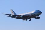 せぷてんばーさんが、横田基地で撮影したアメリカ空軍 VC-25A (747-2G4B)の航空フォト(写真)