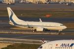 やまっちさんが、羽田空港で撮影したハンワ・ケミカル 737-7EG BBJの航空フォト(写真)