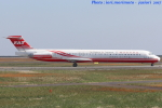 いおりさんが、山口宇部空港で撮影した遠東航空 MD-83 (DC-9-83)の航空フォト(写真)
