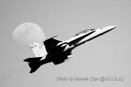 kanade/Ryo@S.O.R.A.さんが、岩国空港で撮影したアメリカ海兵隊 F/A-18D Hornetの航空フォト(飛行機 写真・画像)