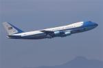 多摩川崎2Kさんが、横田基地で撮影したアメリカ空軍 VC-25A (747-2G4B)の航空フォト(写真)