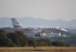 だいまる。さんが、岡山空港で撮影したノエビア 680 Citation Sovereignの航空フォト(写真)