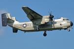 Double_Hさんが、厚木飛行場で撮影したアメリカ海軍 C-2A Greyhoundの航空フォト(写真)