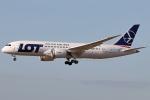 Double_Hさんが、仁川国際空港で撮影したLOTポーランド航空 787-8 Dreamlinerの航空フォト(写真)