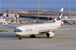 yabyanさんが、中部国際空港で撮影したキャセイパシフィック航空 A330-342Xの航空フォト(写真)