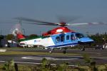 NIKKOREX Fさんが、群馬ヘリポートで撮影した新潟県消防防災航空隊 AW139の航空フォト(写真)