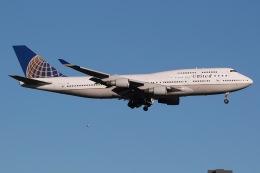 JRF spotterさんが、ワシントン・ダレス国際空港で撮影したユナイテッド航空 747-422の航空フォト(飛行機 写真・画像)