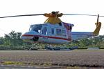 NIKKOREX Fさんが、群馬ヘリポートで撮影した朝日航洋 412の航空フォト(写真)