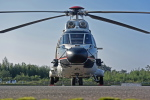 NIKKOREX Fさんが、群馬ヘリポートで撮影した朝日航洋 AS332L Super Pumaの航空フォト(写真)