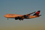 LEGACY-747さんが、成田国際空港で撮影したデルタ航空 747-451の航空フォト(写真)