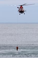 じーのさんさんが、八丈島空港で撮影した東京消防庁航空隊 AS365N3 Dauphin 2の航空フォト(写真)