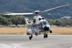 じーのさんさんが、八丈島空港で撮影した海上保安庁 AS332L1 Super Pumaの航空フォト(写真)