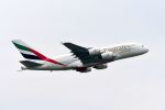 まいけるさんが、スワンナプーム国際空港で撮影したエミレーツ航空 A380-842の航空フォト(写真)