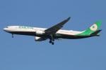たみぃさんが、成田国際空港で撮影したエバー航空 A330-302の航空フォト(写真)