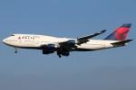 たみぃさんが、成田国際空港で撮影したデルタ航空 747-451の航空フォト(写真)