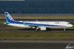 たみぃさんが、羽田空港で撮影した全日空 A321-272Nの航空フォト(写真)