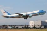 たみぃさんが、横田基地で撮影したアメリカ空軍 VC-25A (747-2G4B)の航空フォト(写真)