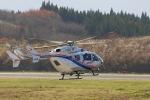 sa322yaさんが、大館能代空港で撮影した秋田県消防防災航空隊 BK117C-2の航空フォト(写真)