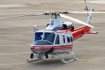 sa322yaさんが、大館能代空港で撮影した青森県防災航空隊 412EPIの航空フォト(写真)