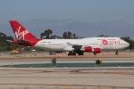 JRF spotterさんが、ロングビーチ空港で撮影したヴァージン・ギャラクティック 747-41Rの航空フォト(写真)