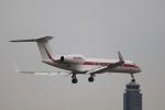 msrwさんが、成田国際空港で撮影したハネウェル G-V-SP Gulfstream G550の航空フォト(写真)