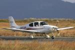 ピーチさんが、岡山空港で撮影した学校法人ヒラタ学園 航空事業本部 SR20 Sの航空フォト(写真)