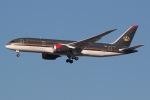 JRF spotterさんが、ジョン・F・ケネディ国際空港で撮影したロイヤル・ヨルダン航空 787-8 Dreamlinerの航空フォト(写真)