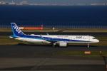 meron panさんが、羽田空港で撮影した全日空 A321-272Nの航空フォト(写真)