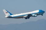 Kanryoさんが、横田基地で撮影したアメリカ空軍 VC-25A (747-2G4B)の航空フォト(写真)