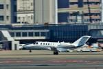 T.Sazenさんが、伊丹空港で撮影した毎日新聞社 525A Citation CJ2の航空フォト(飛行機 写真・画像)