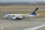 うすさんが、新千歳空港で撮影したスカイマーク 737-86Nの航空フォト(写真)