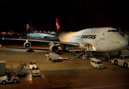 KAZKAZさんが、羽田空港で撮影したカンタス航空 747-438/ERの航空フォト(飛行機 写真・画像)