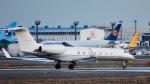 パンダさんが、成田国際空港で撮影したCityville Capital G-V-SP Gulfstream G550の航空フォト(写真)